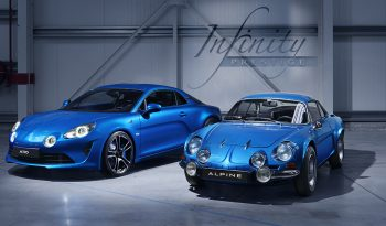 Alpine A110 1ère Edition complet